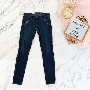 AG Jeans the Willow Zip Pocket Extreme Skinny 28R
